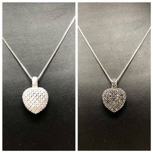 🆕 Real diamonds 💎, sterling necklace